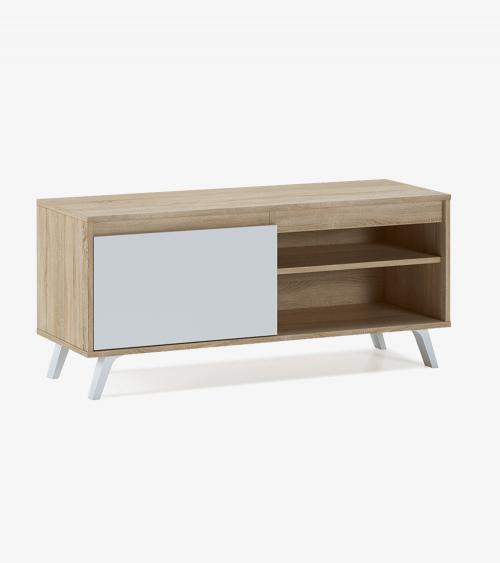 Mueble TV  DALLAS, mesa televisión estilo nórdico